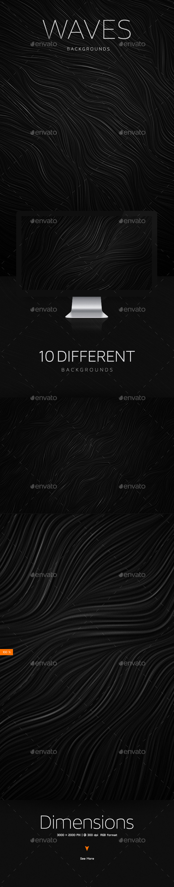 Waves Subtle Textures Backgrounds - Patterns Backgrounds