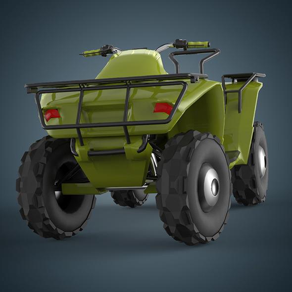 Monster car - 3DOcean Item for Sale