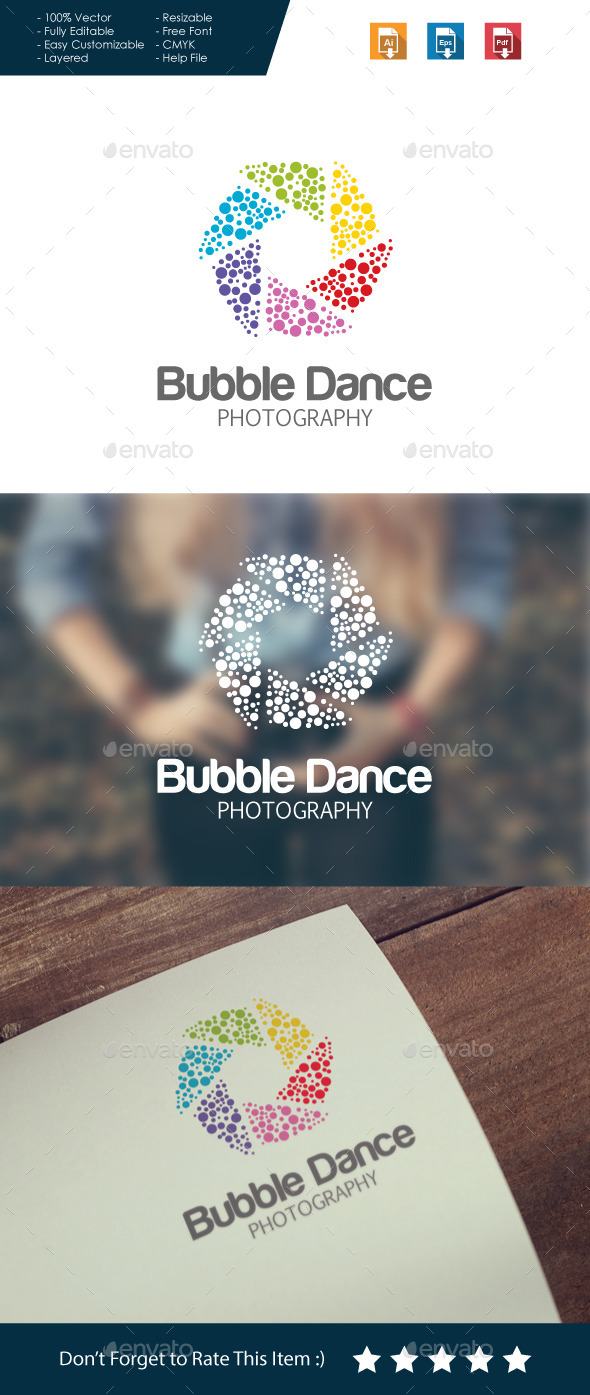 Abstract Photography Logo - Abstract Logo Templates