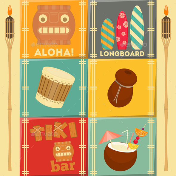 Hawaii Cards - Travel Conceptual