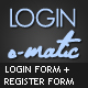 Login o -Matic - GraphicRiver Item for Sale