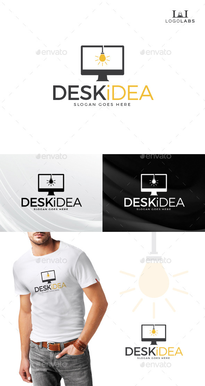 Desk Idea Logo - Objects Logo Templates