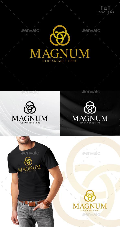 Magnum Luxury Logo - Symbols Logo Templates