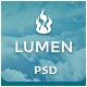 Lumen - Multi-purpose PSD Template Nulled