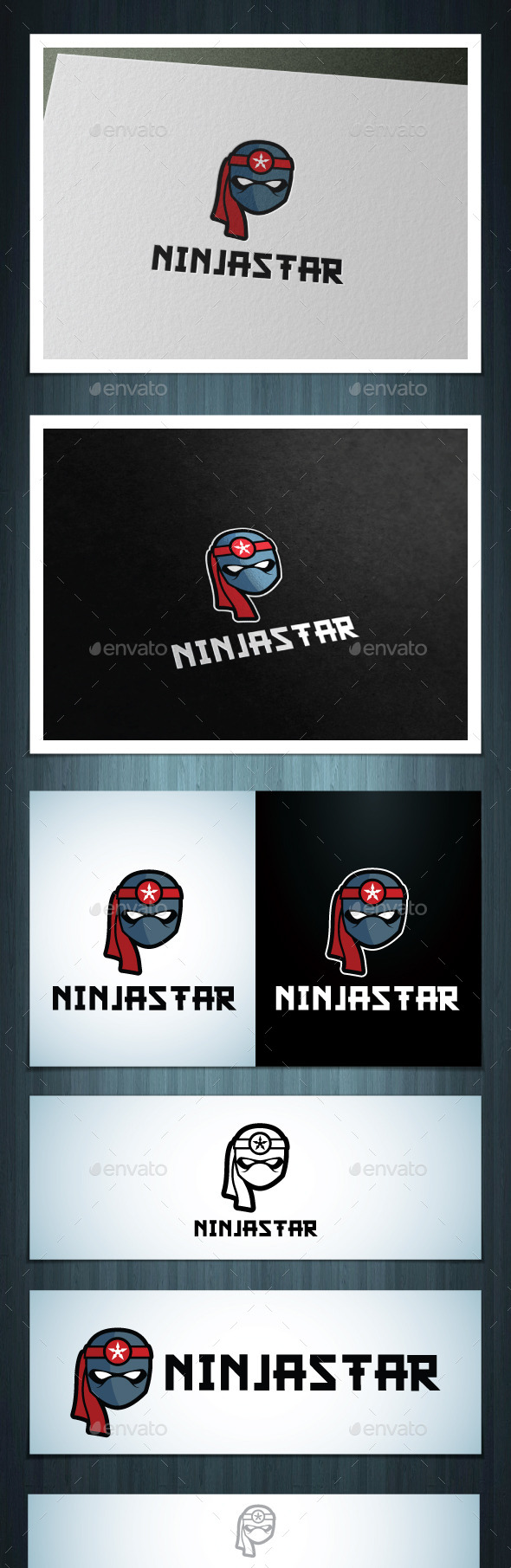 Ninja Star - Vector Abstract