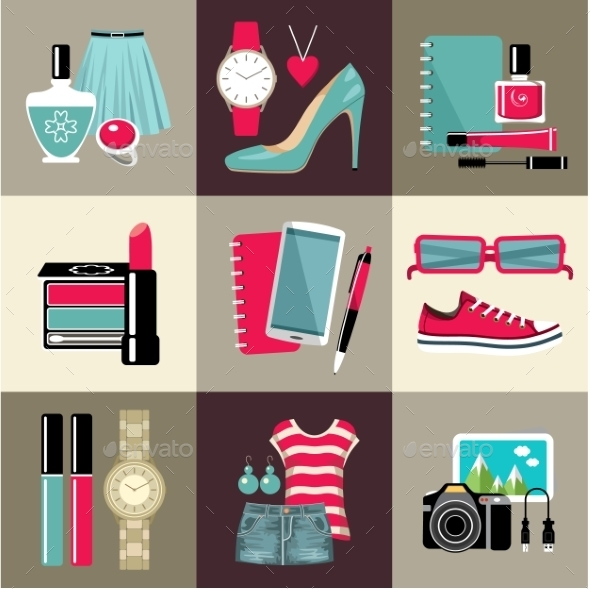 Fashion Set  - Retail Commercial / Shopping
