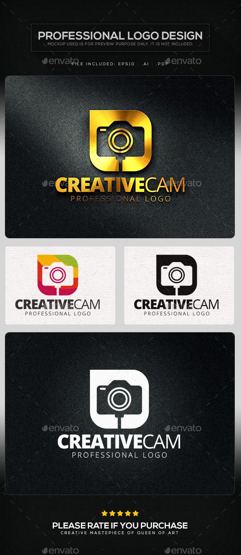 Creative Cam Logo Template - Symbols Logo Templates