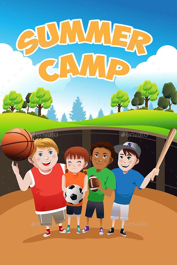 Summer Camp  - Sports/Activity Conceptual
