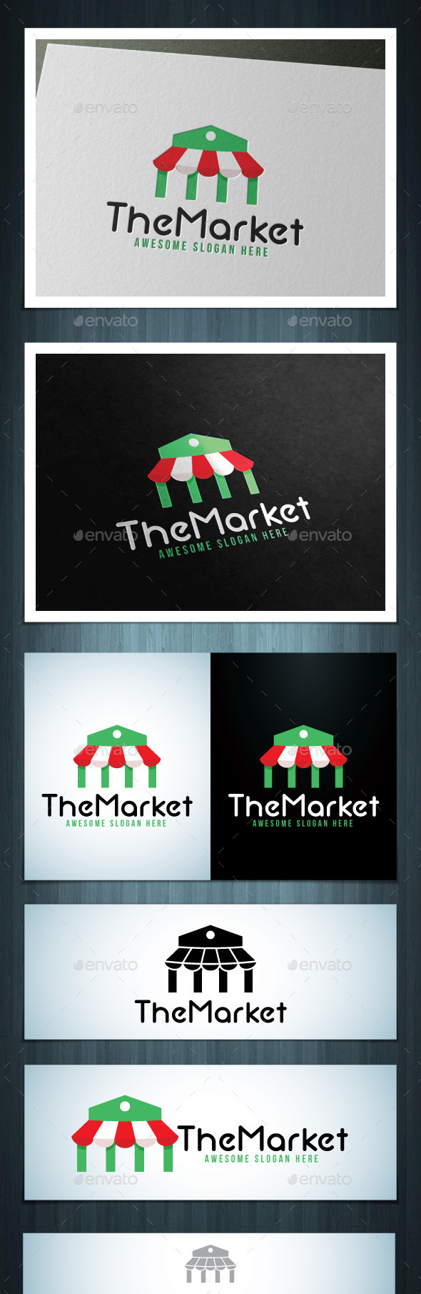 The Market - Vector Abstract