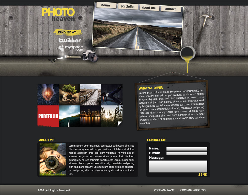Free Download Photo Heaven Creative Design Nulled Latest Version