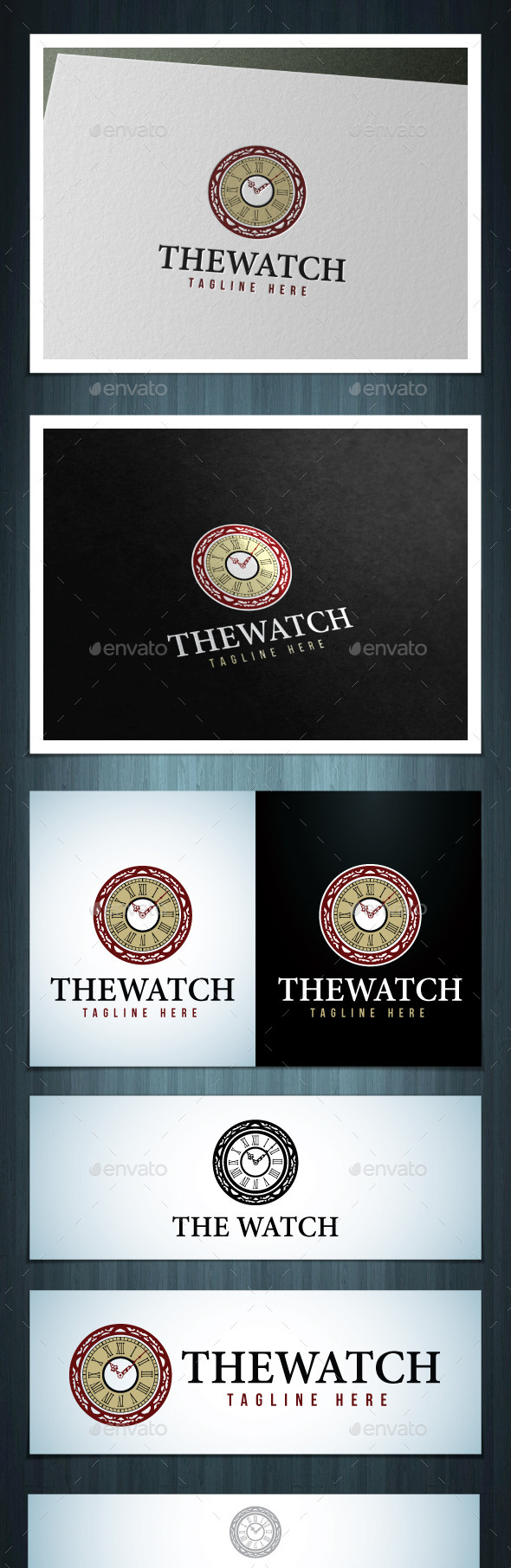 The Watch - Vector Abstract