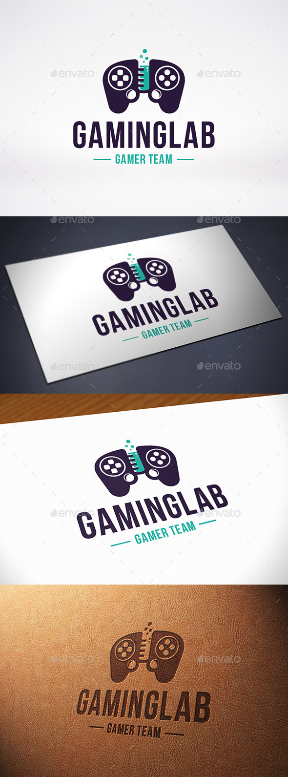 Game Lab Logo Template - Objects Logo Templates