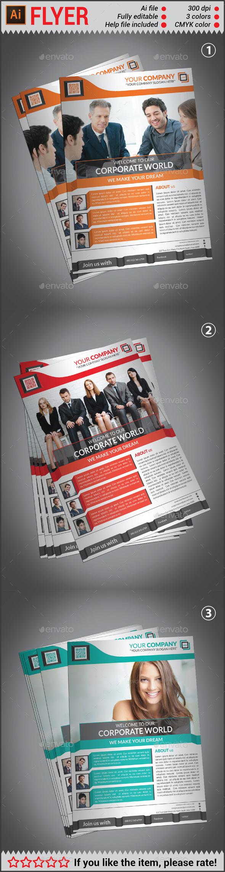 Creative Corporate Flyer Template - Corporate Flyers