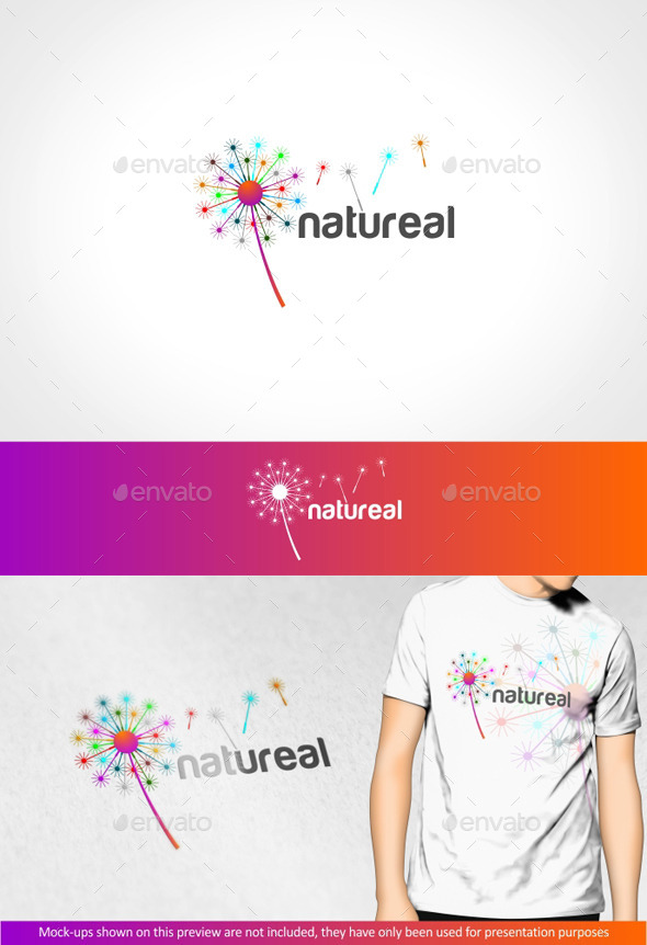 Natureal - Logo Templates