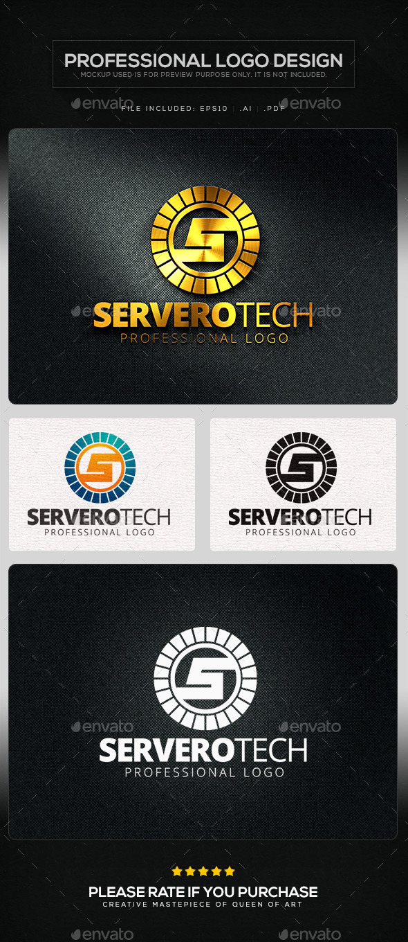 Serverotech Logo Template - Letters Logo Templates