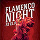 Flamenco Night Flyer - GraphicRiver Item for Sale