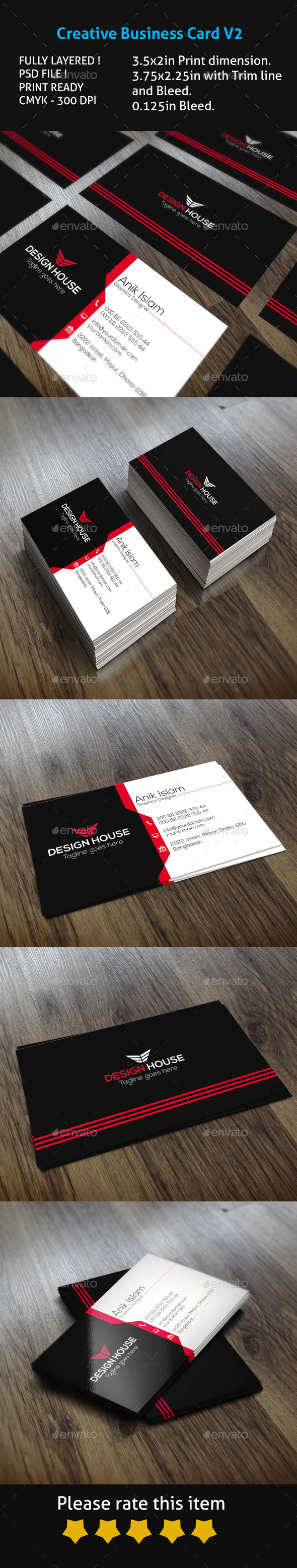 Creative Business Card V2 - Creative Business Cards