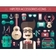 Hipster Icons  - GraphicRiver Item for Sale
