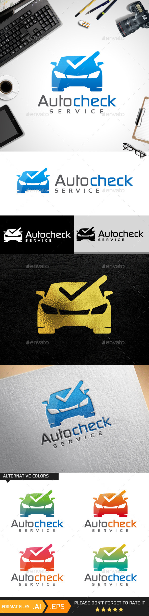 Auto Check Logo Templates - Objects Logo Templates