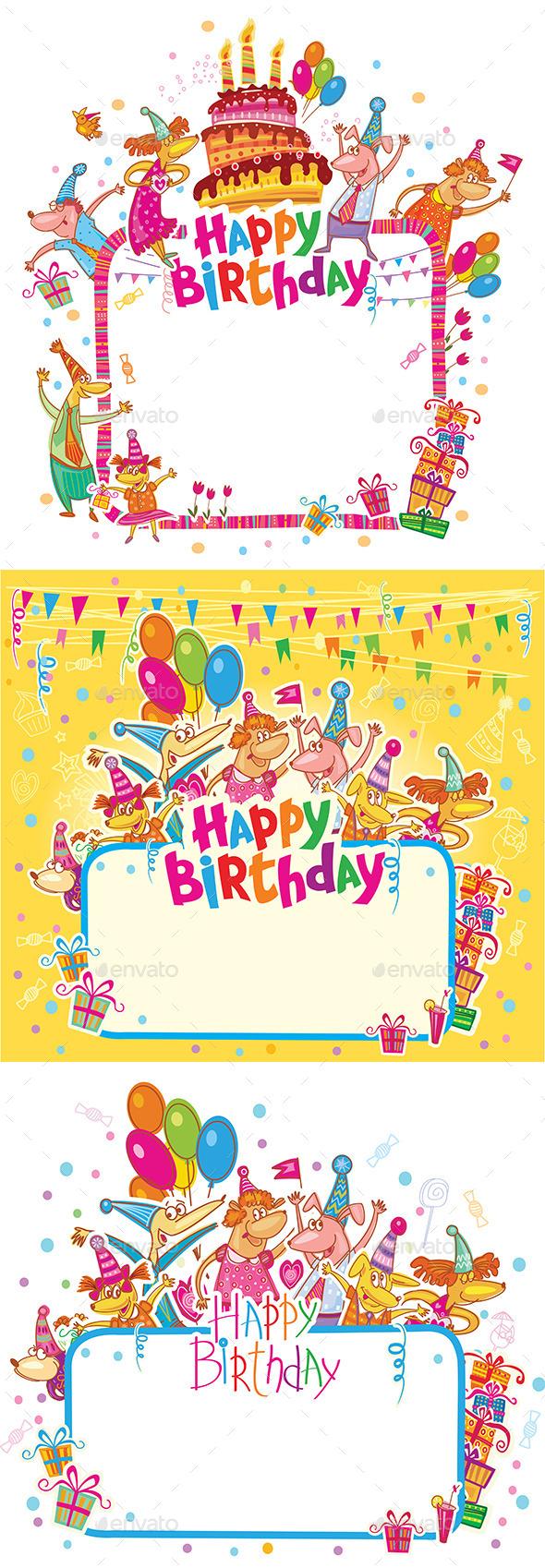 Happy Birthday Cards - Birthdays Seasons/Holidays