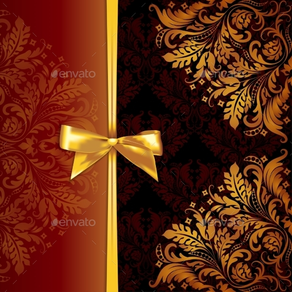 Template with Filigree Ornament - Patterns Decorative