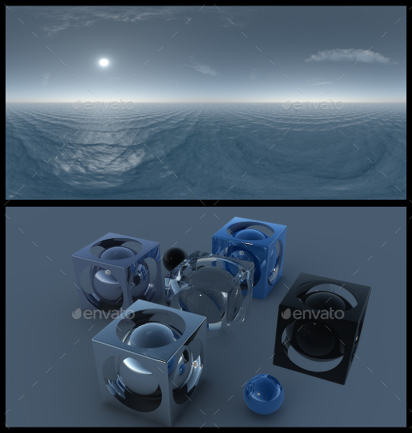 Blue Ocean HDRI - 3DOcean Item for Sale