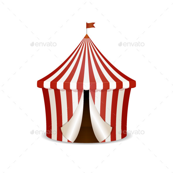 Circus Tent - Man-made Objects Objects