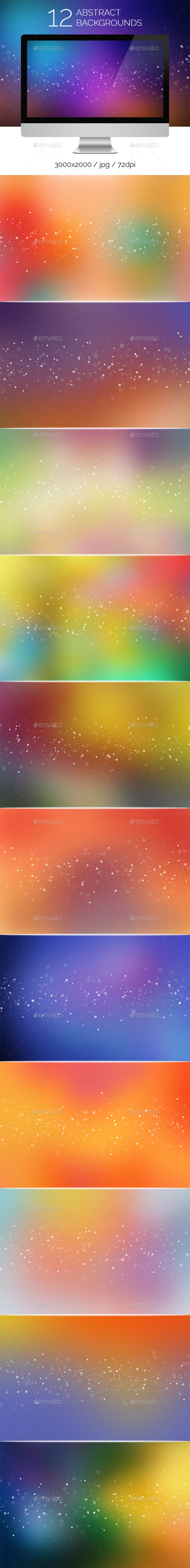 12 Abstract Backgounds - Abstract Backgrounds