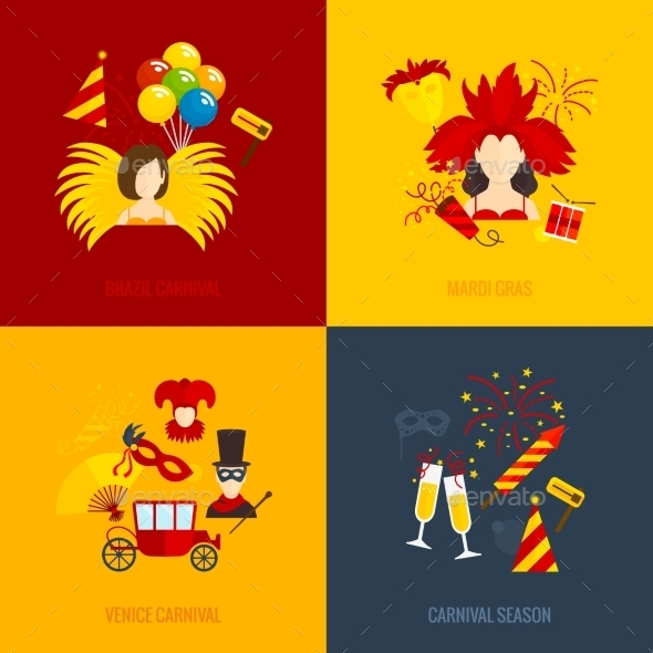 Carnival Icons - Miscellaneous Vectors
