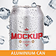 Aluminium Can Mock-Up - GraphicRiver Item for Sale
