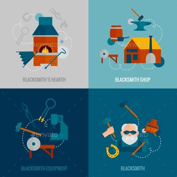 Blacksmith Flat Set - Industries Business