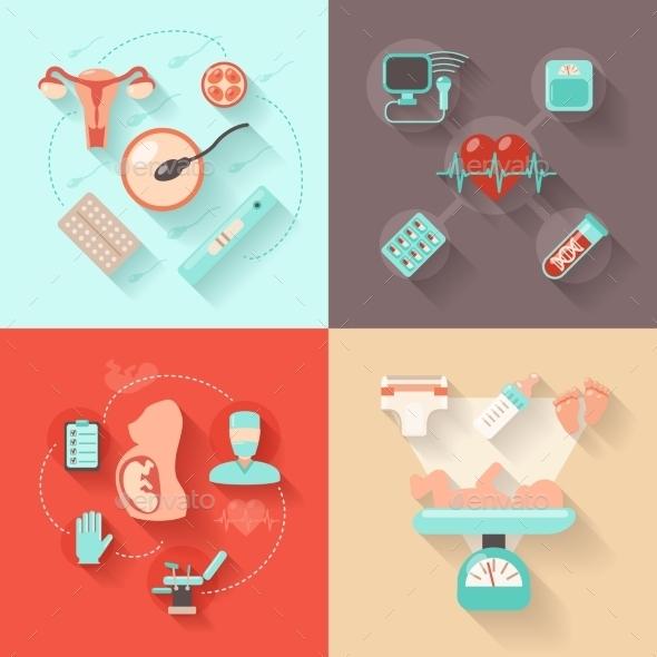 Pregnancy Design Concept - Health/Medicine Conceptual