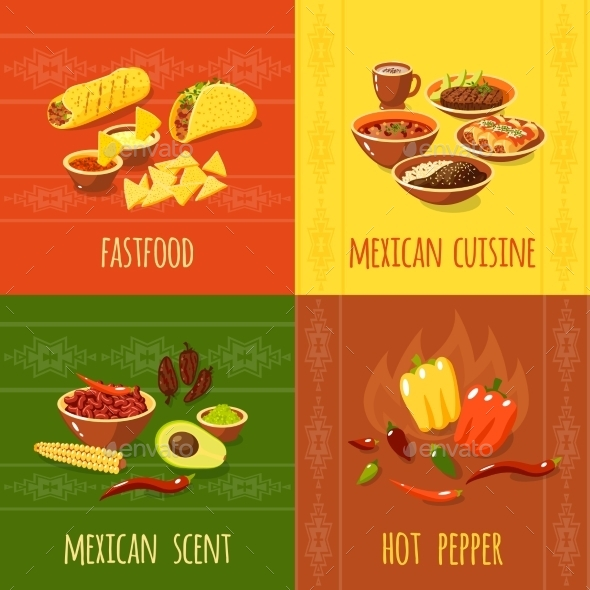 Mexican Design Concept - Food Objects