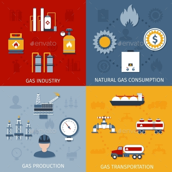 Gas Industry  - Web Technology