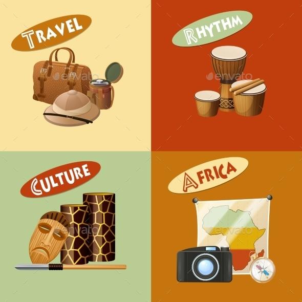 African Design Concept - Travel Conceptual