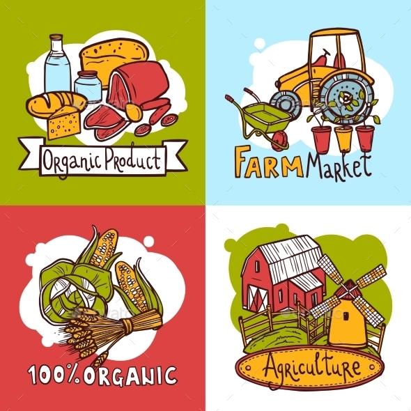 Agriculture Design Concept - Nature Conceptual