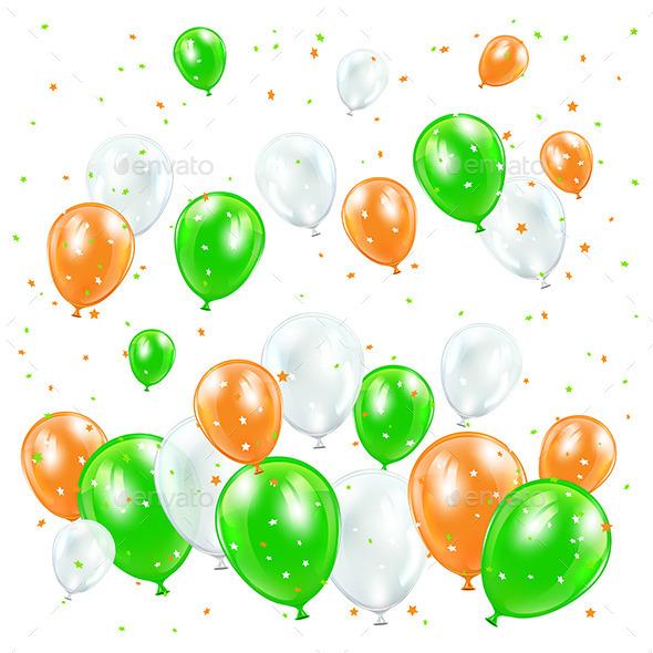 Patricks Day Balloons - Birthdays Seasons/Holidays