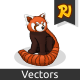 Red Panda Cartoon  - GraphicRiver Item for Sale