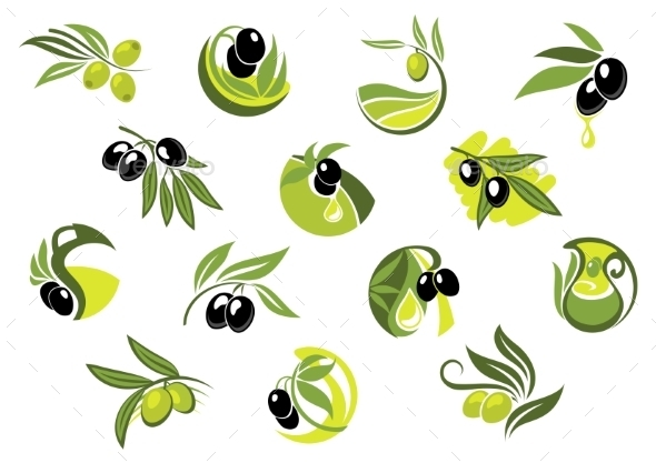 Olive Branches  - Food Objects