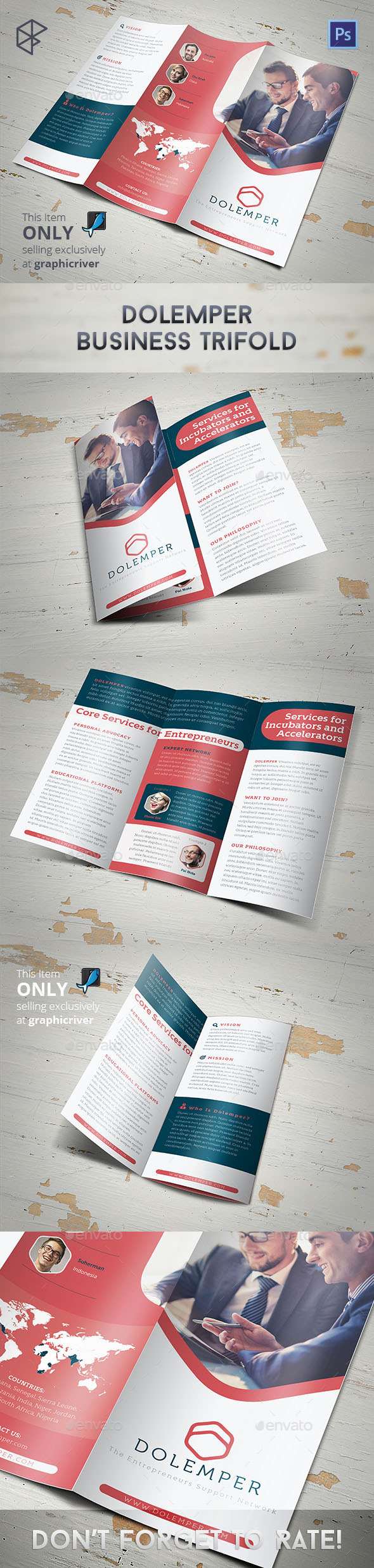 Dolemper Business Trifold - Corporate Brochures