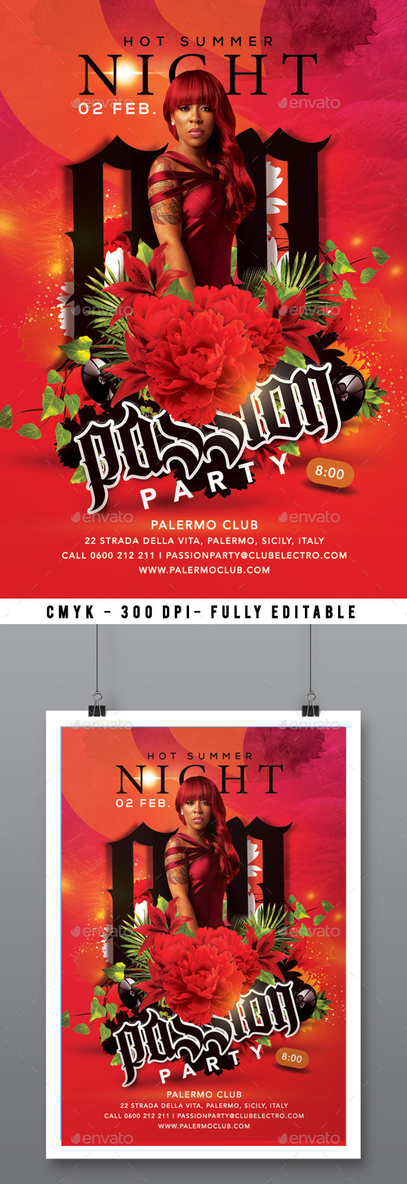 Hot Summer Passion Night Party - Clubs & Parties Events