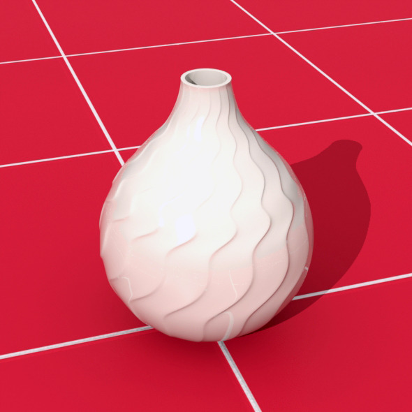 Flower Vase - 3DOcean Item for Sale