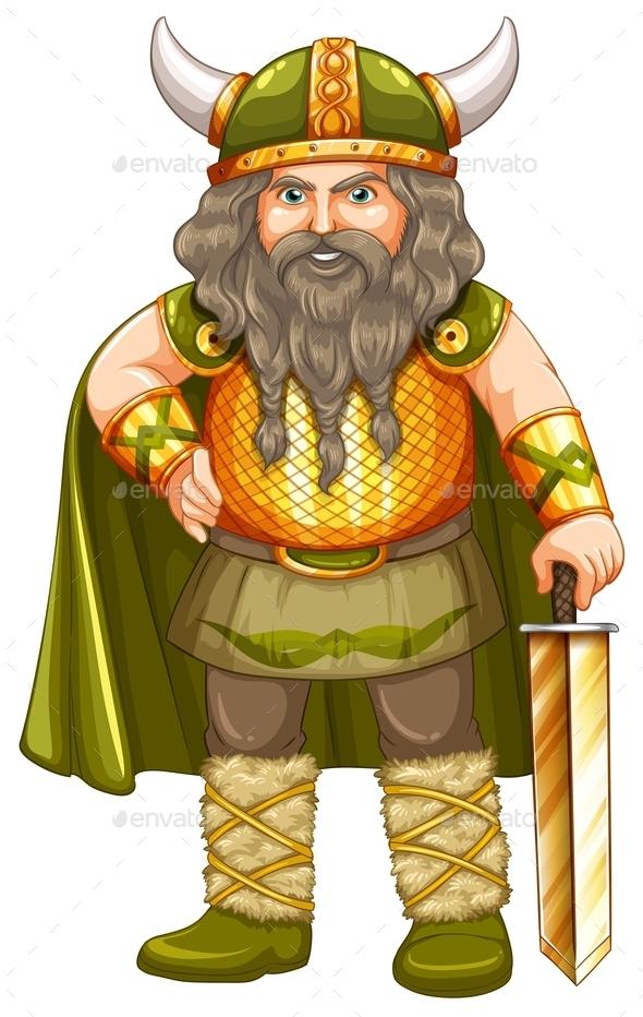 Viking Warrior - People Characters