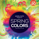 Spring Colors Flyer Template - GraphicRiver Item for Sale