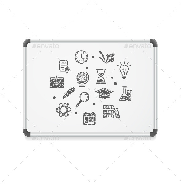 Whiteboard Concept  - Conceptual Vectors