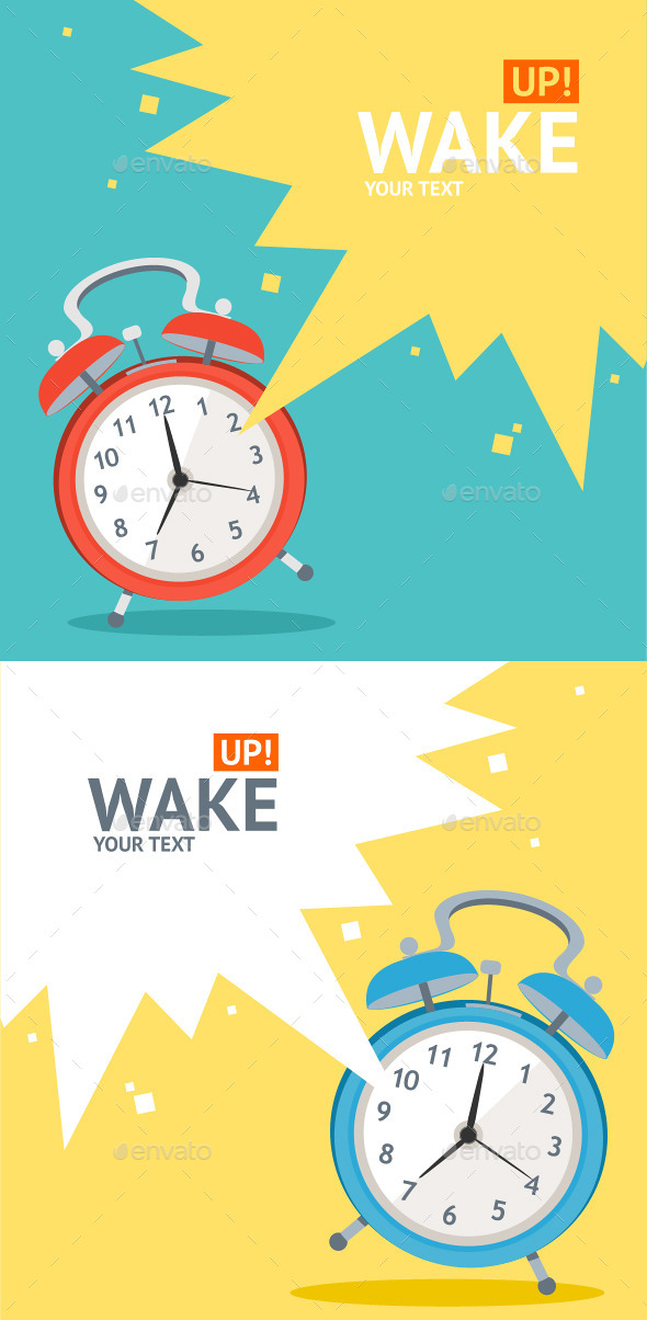 Wake Up Clock  - Commercial / Shopping Conceptual
