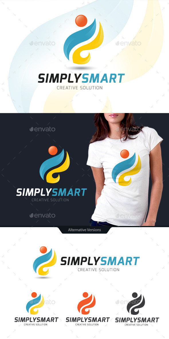 Simply Smart S Logo - Letters Logo Templates