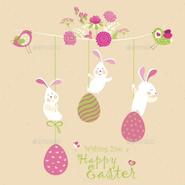 Easter Bunnies  - Seasons/Holidays Conceptual