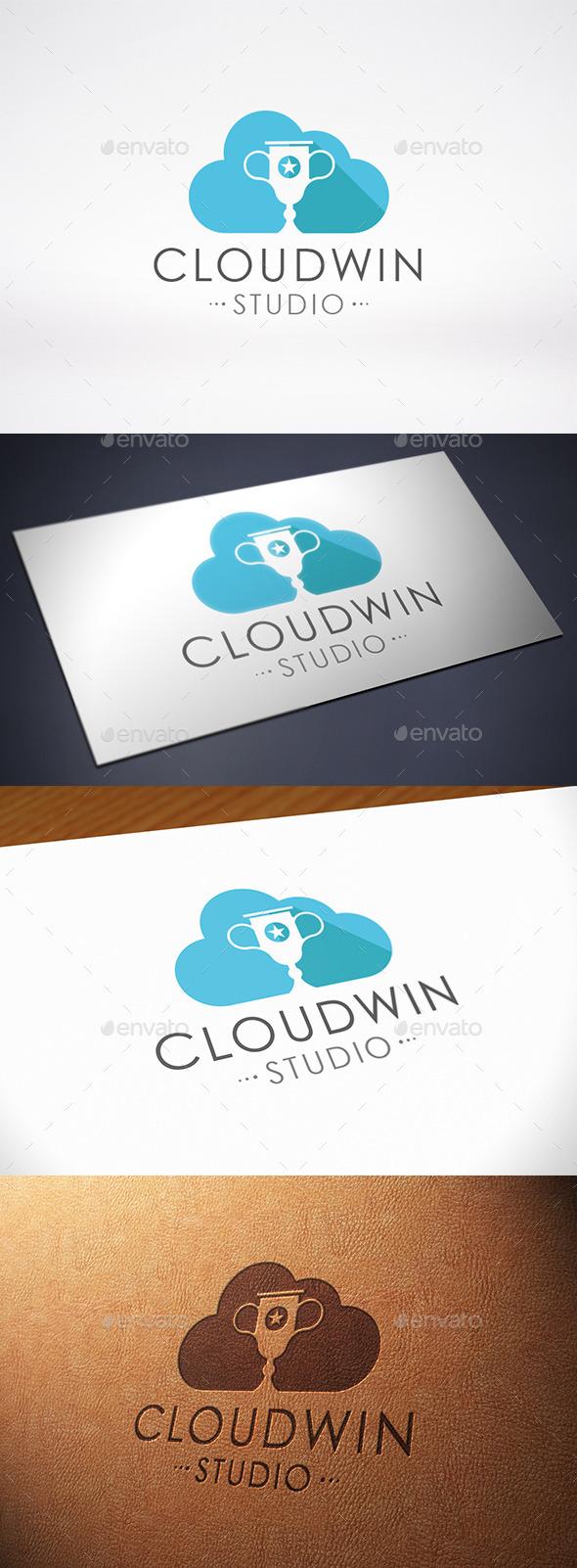 Champion Cloud Logo Template - Symbols Logo Templates