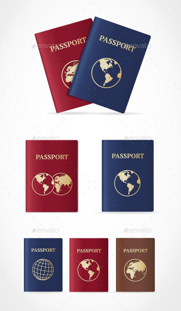 Passport Set - Man-made Objects Objects